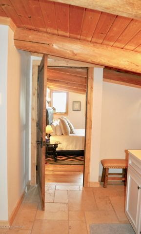 Bathroom to Bedroom in Owner's Quarters