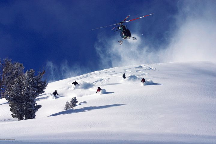 25. Heli-skiing near Wolf Mountain