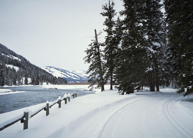 21. Cross country Skiing on Snake River