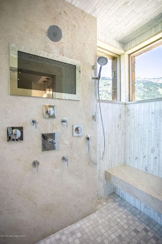 Body Shower With TV Screen