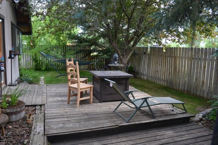 Cabin back yard 2