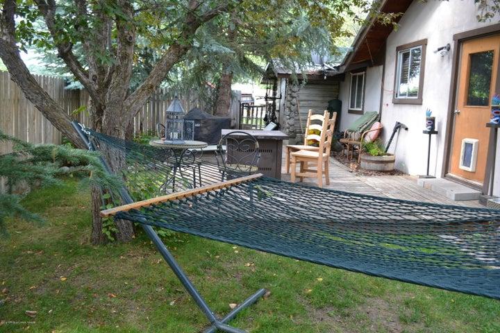 Cabin back yard 3
