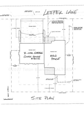 Leeper site Plan