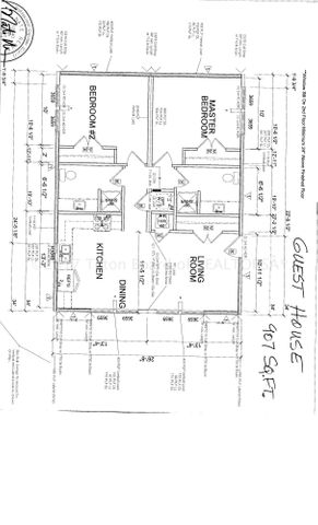 Leeper Guest House floor plan