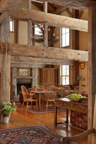 200 Year Old White Pine Barn Frame