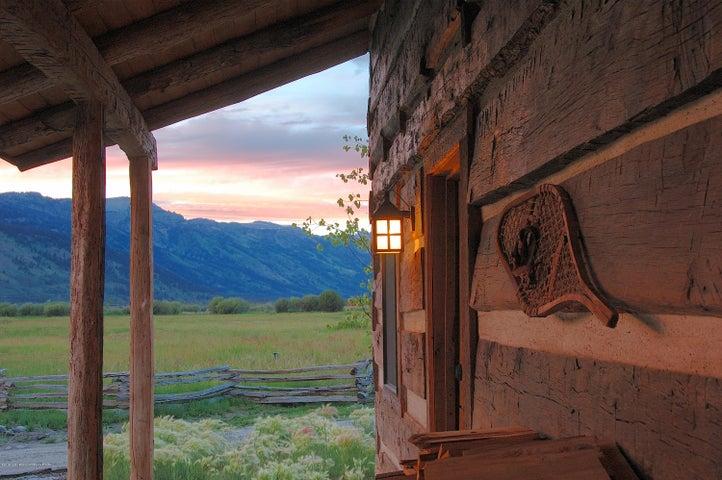 Hand Hewn Original Oak Cabin