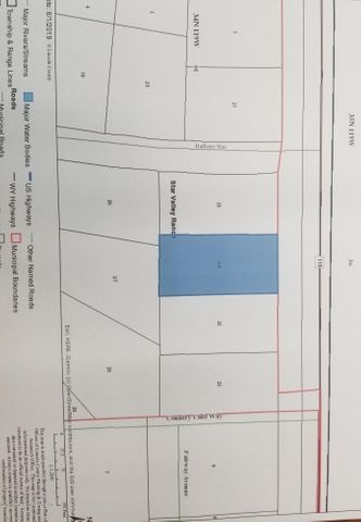 PLAT 5 LOT 24  <br>Star Valley Ranch, WY