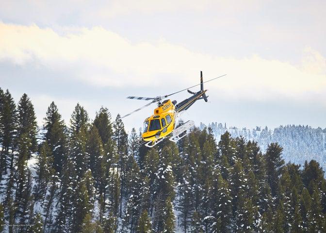 26. Heli-skiing