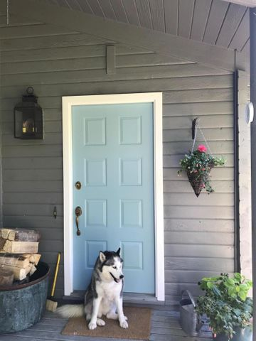 front door and Bella