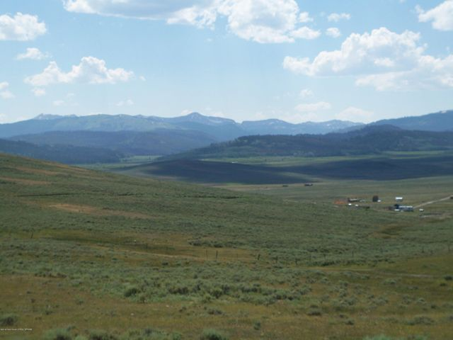 You Can See Forever! Looking To The West And The Wyoming Range Mountains.