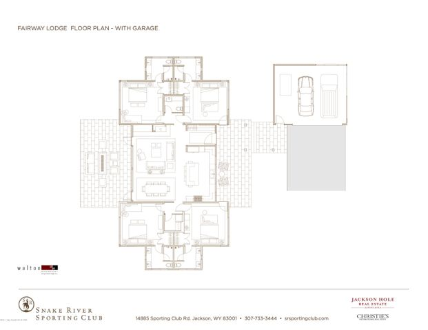 Fairway Lodge, Floor Plan