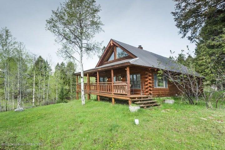 Cabin from Hillside