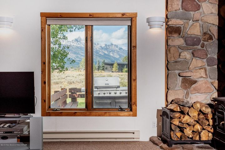 Teton View from living room
