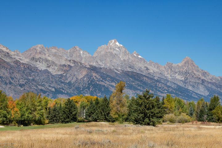 Unobstructed Grand Teton views