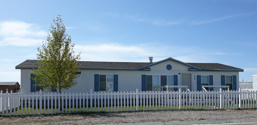 12 THIRTEENTH ST, Marbleton, WY 83113