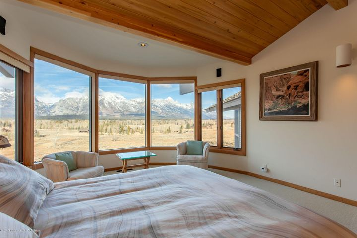 Bedroom with Teton Views