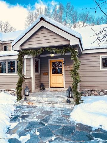 winter exterior entry