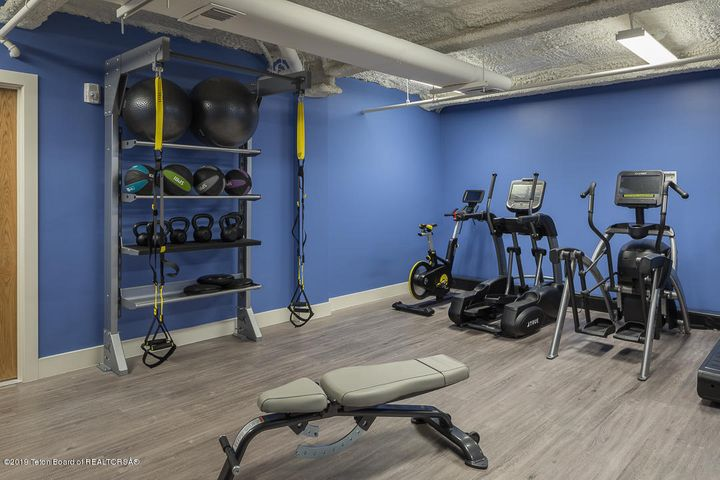 Private Fitness Room