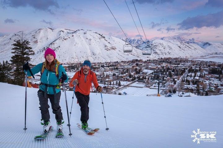 Uphill Ski