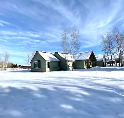 full house exterior winter