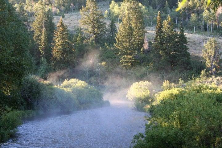 creek morning light