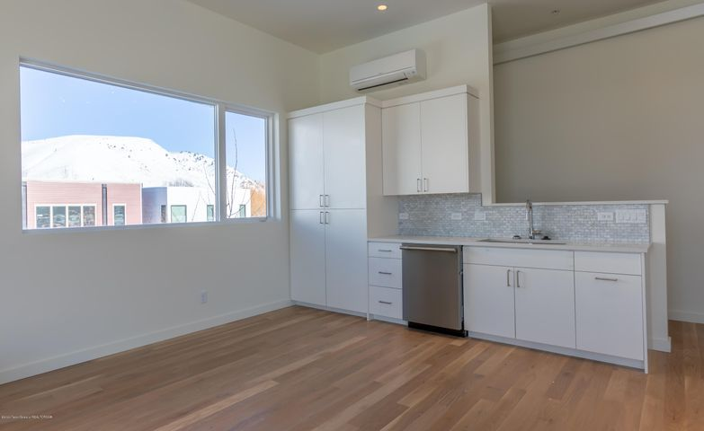 Kitchen with views to the north