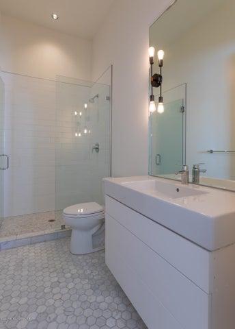 Heated floors in Bathroom