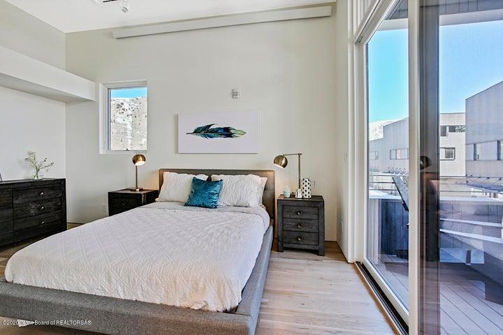 Bedroom (not actual unit)