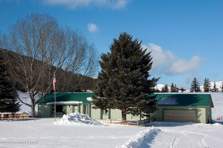 Mule Deer House Exterior Winter 1