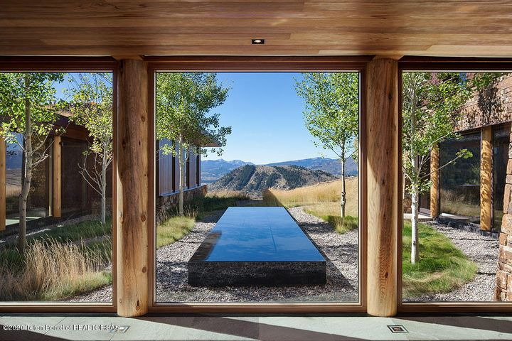 Zen Garden from Entry