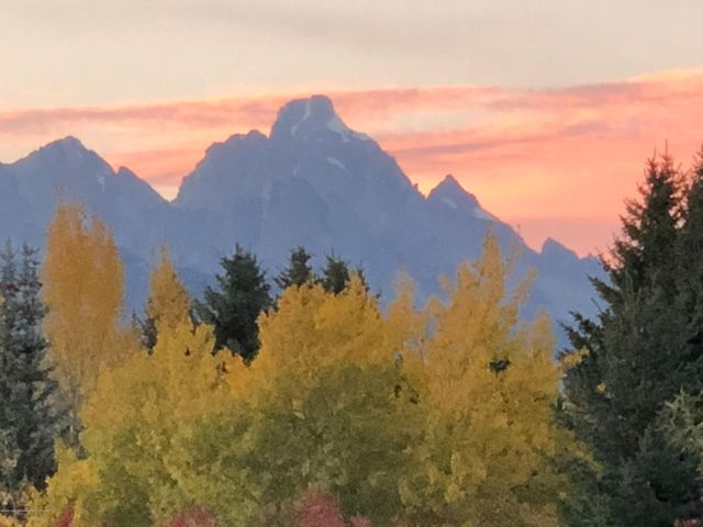 Fall Colors and Grand Teton