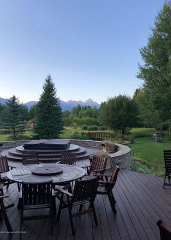 Rear Deck to Teton View