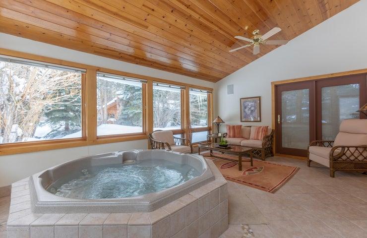 Indoor Hot Tub