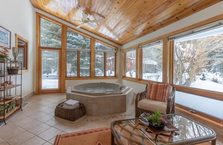 Indoor Hot Tub Room