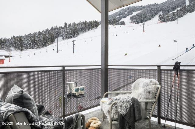 Slopeside Balcony