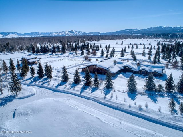 Winter Aerial of