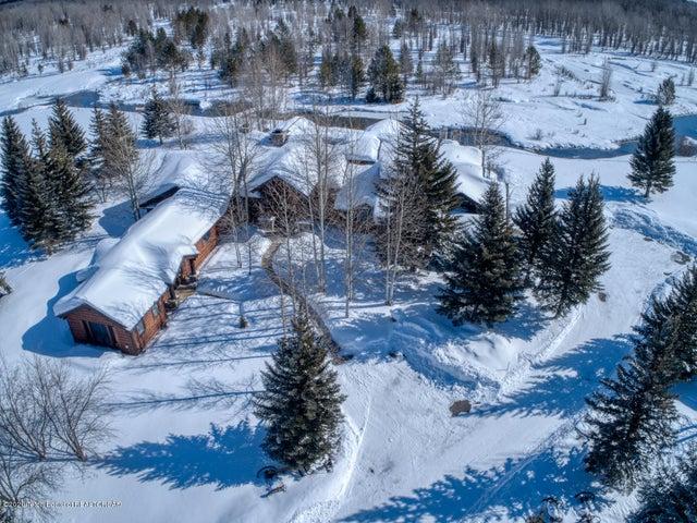 Aerial Main House