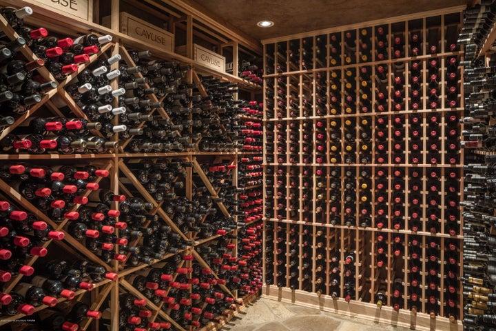 30. Wine room