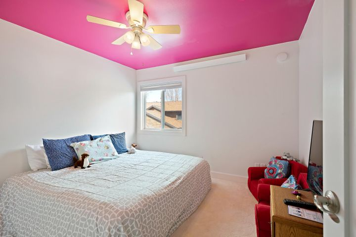 One of 3 upstairs bedrooms