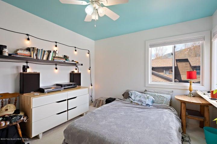 Spacious bedroom upstairs