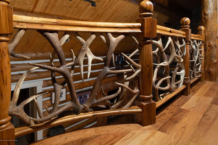 Antler Railings