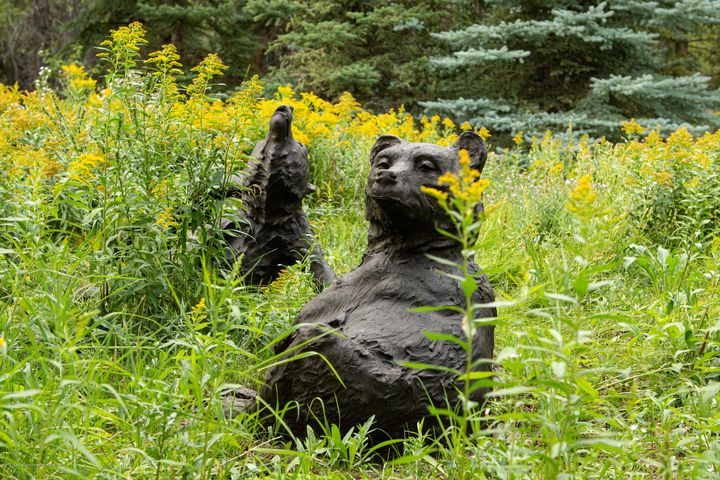 Bear Sculptures