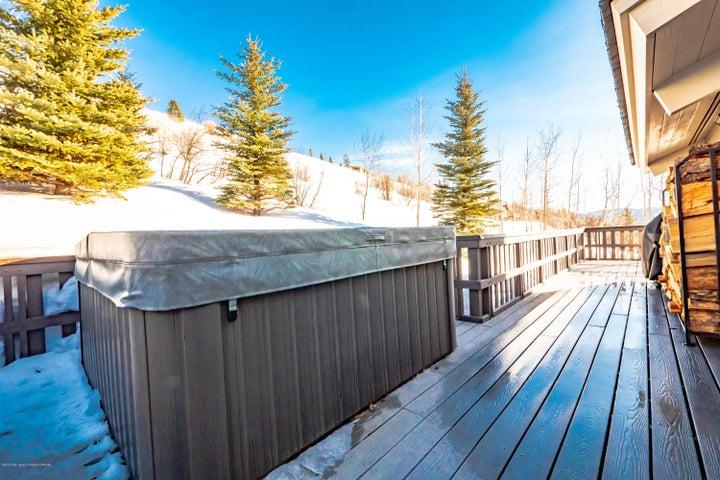 Hot Tub on East Deck