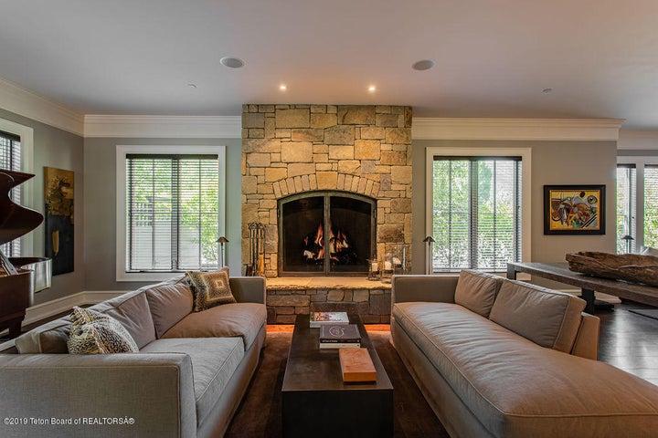 Beautiful Fire Side Lounge