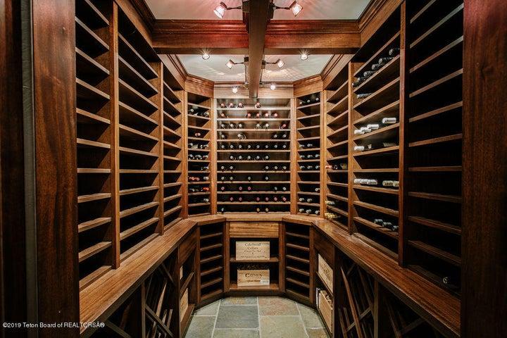 Lower Level Wine Cellar