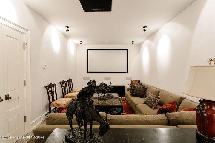Lower Level Media Room