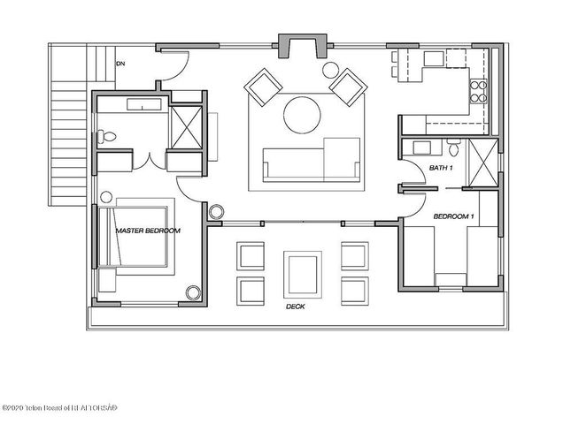 Guest House_Furniture Plan