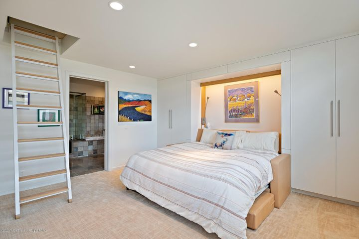 Master with Murphy Bed Down