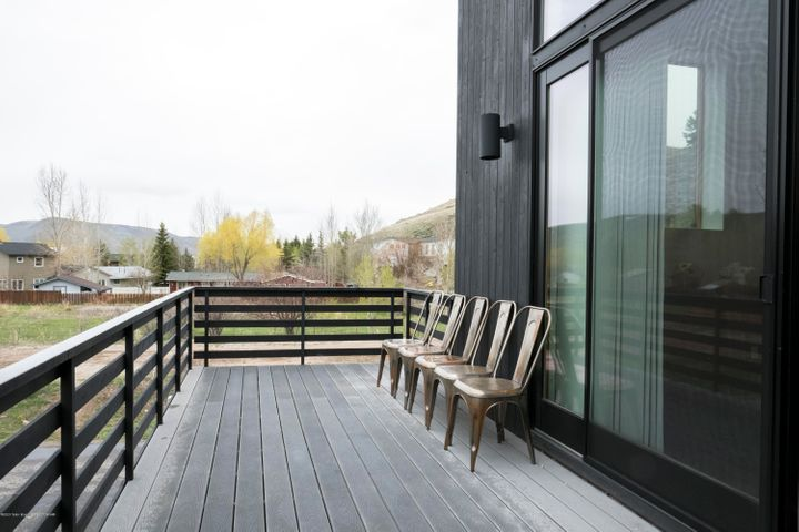 main living area deck