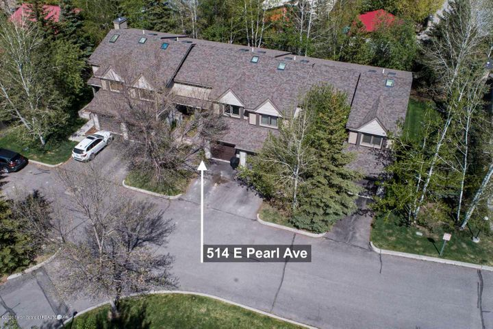 Overhead of Mountain Sage Townhouses